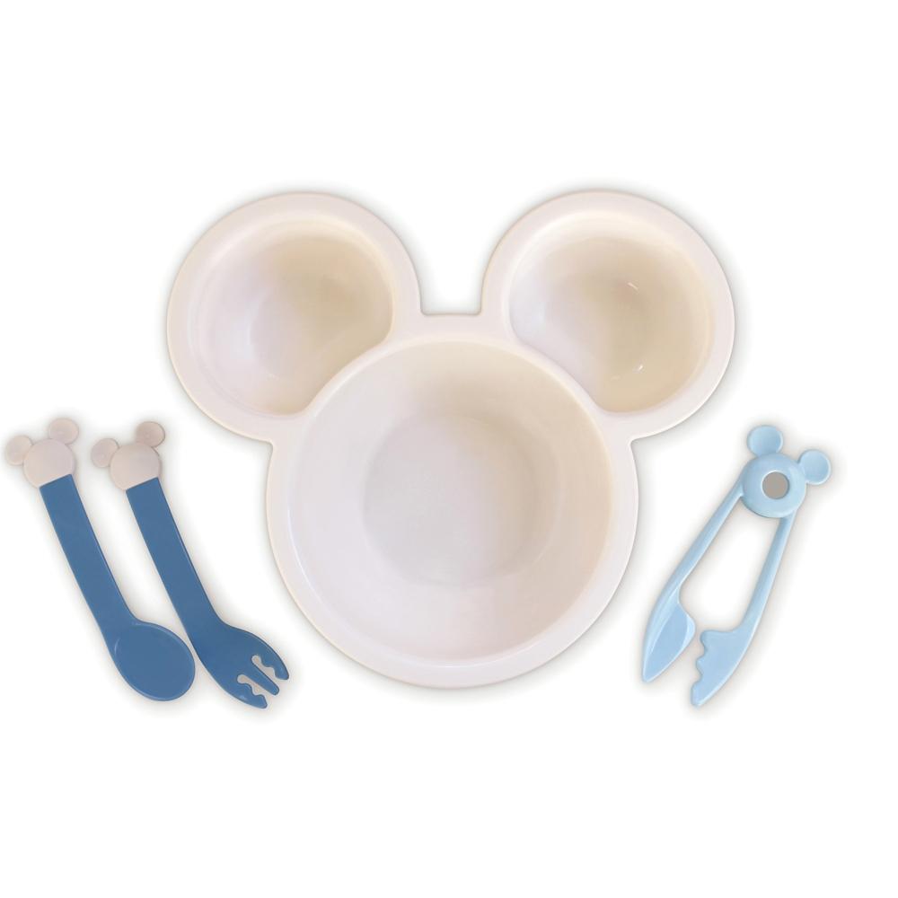 ミッキーマウスはじめてのおうどんセット ブルー