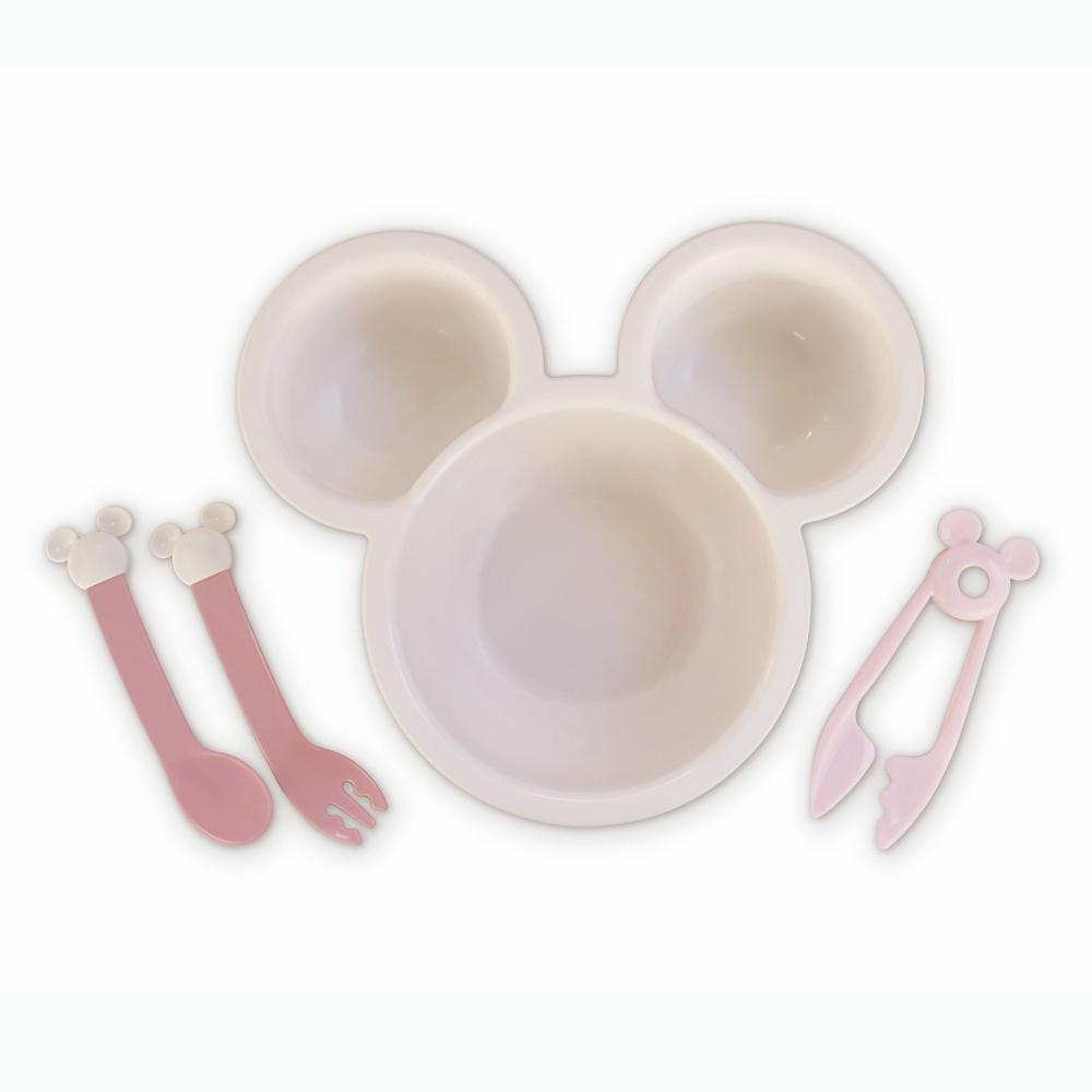 ミッキーマウスはじめてのおうどんセット ピンク