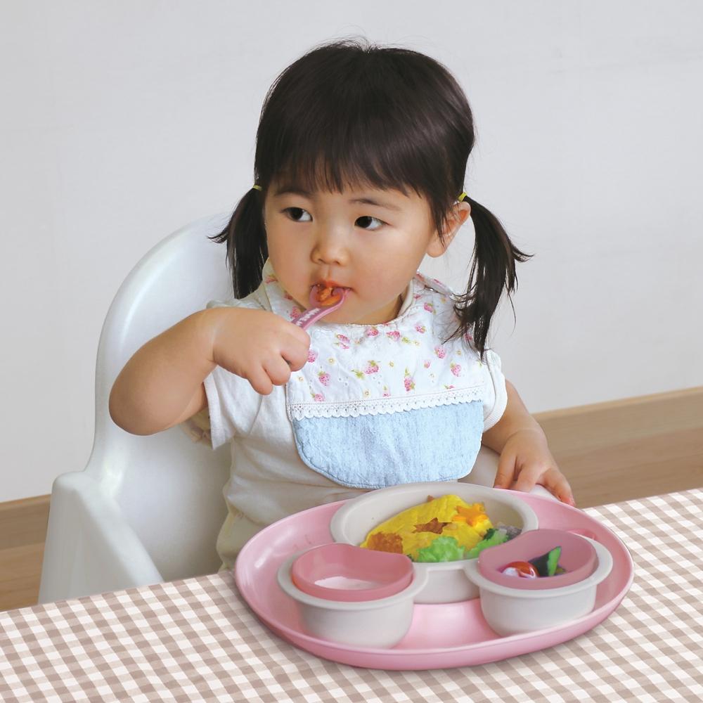 ミニーマウス 食べこぼしキャッチプレート