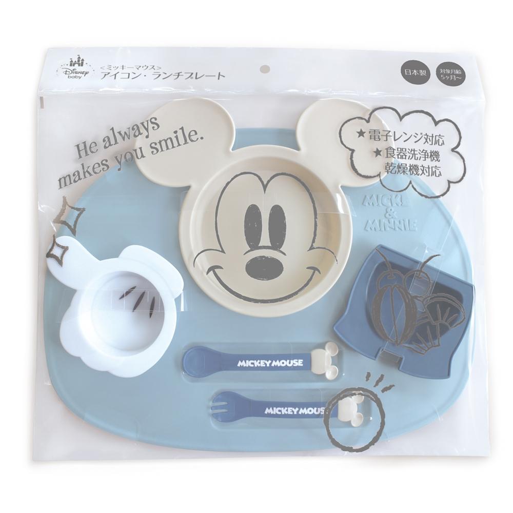 ミッキーマウス アイコン ランチプレート