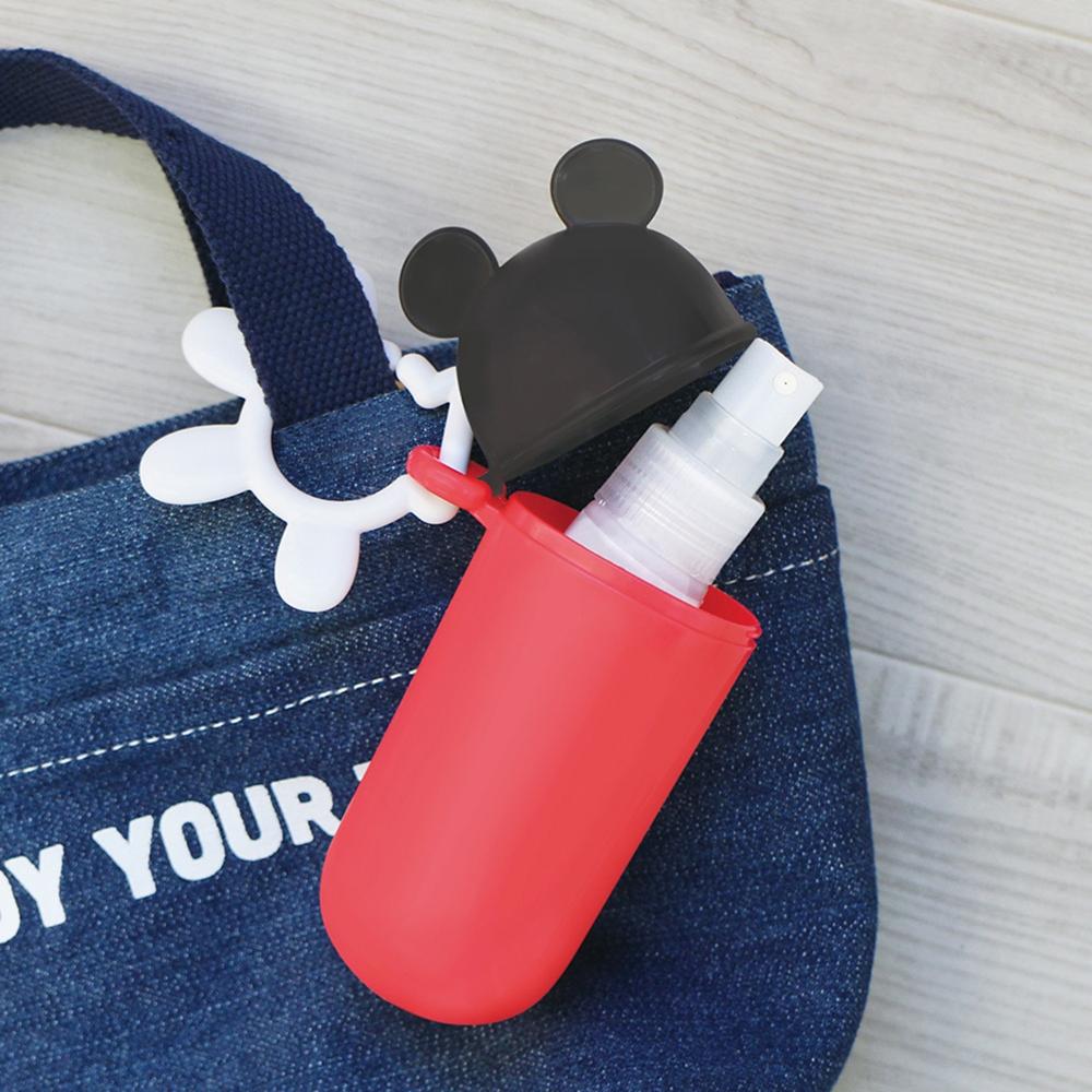ミッキーマウス 携帯スリムケース レッド
