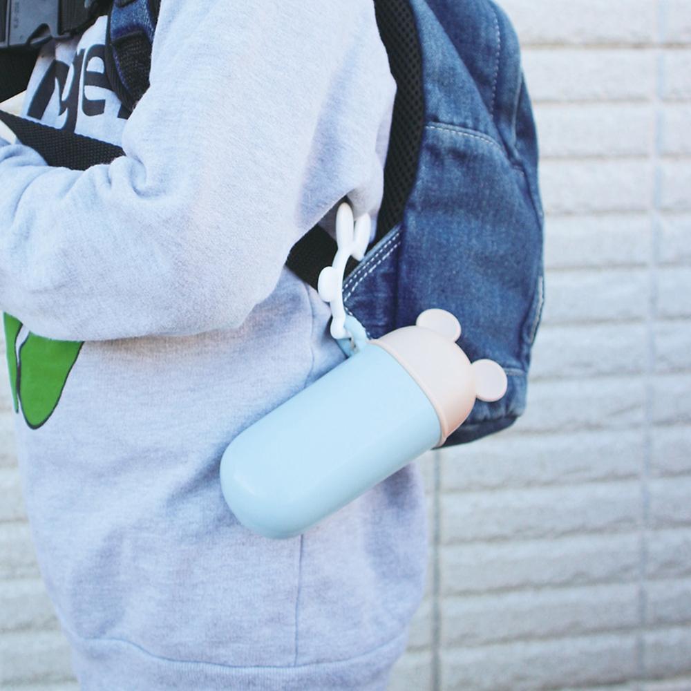 ミッキーマウス 携帯スリムケース ライトブルー
