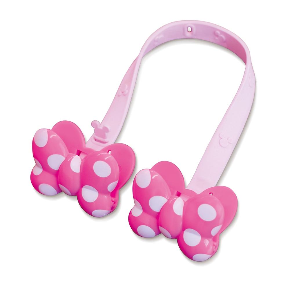 ミニーマウス  ペアクリップ(リボン)  ピンク