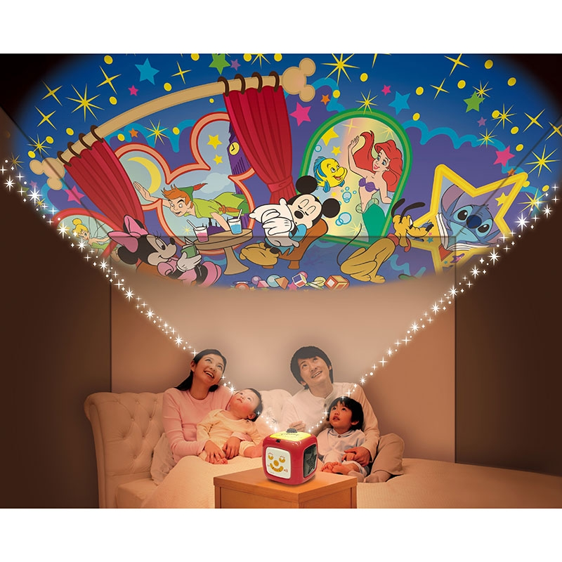 天井いっぱい!おやすみホームシアター Disney Baby