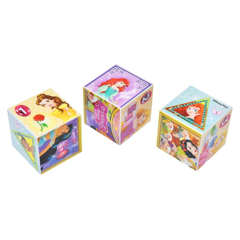 ディズニープリンセス キューブパズル 9コマ すてきなプリンセス