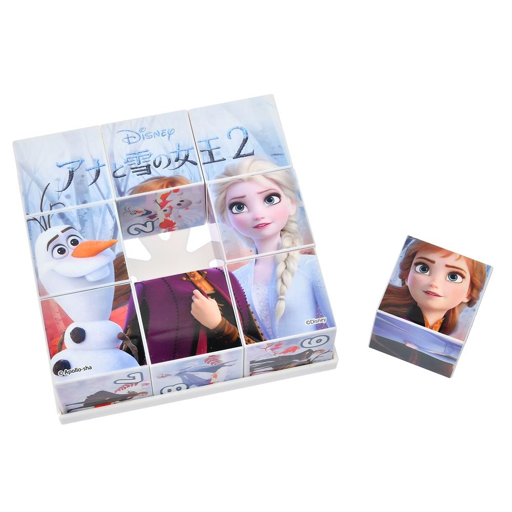 アナと雪の女王2 キューブパズル 9コマ