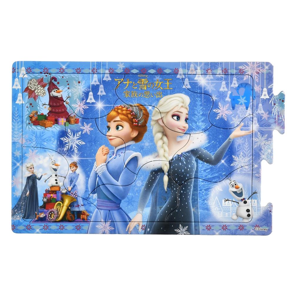 アナと雪の女王/家族の思い出 ステップパノラマパズル STEP2