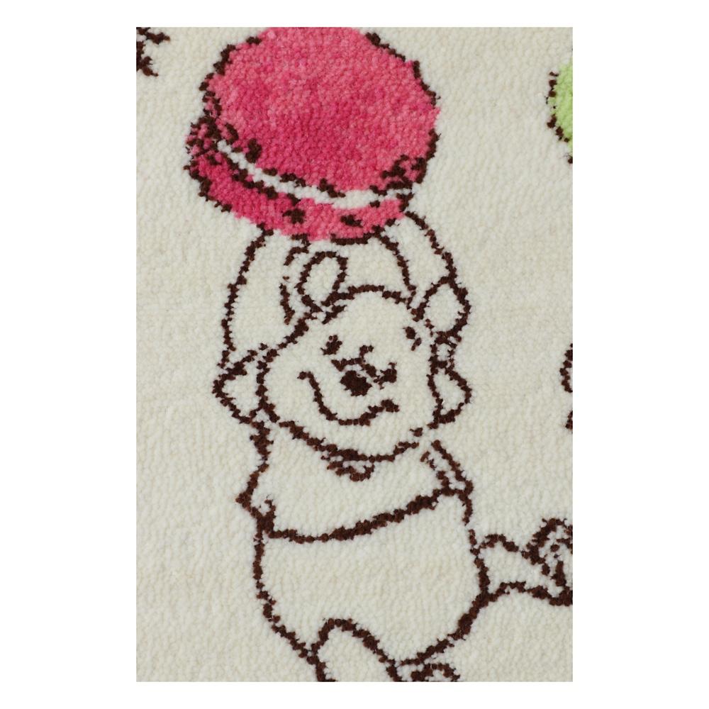 プーさん シェニール織りバスタオル