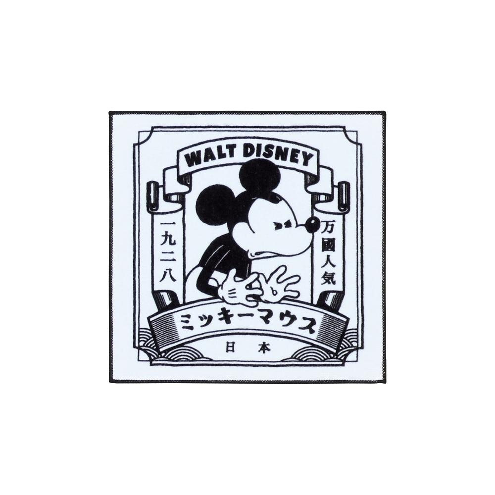 十八番ミッキーマウス ハンカチ ホワイト