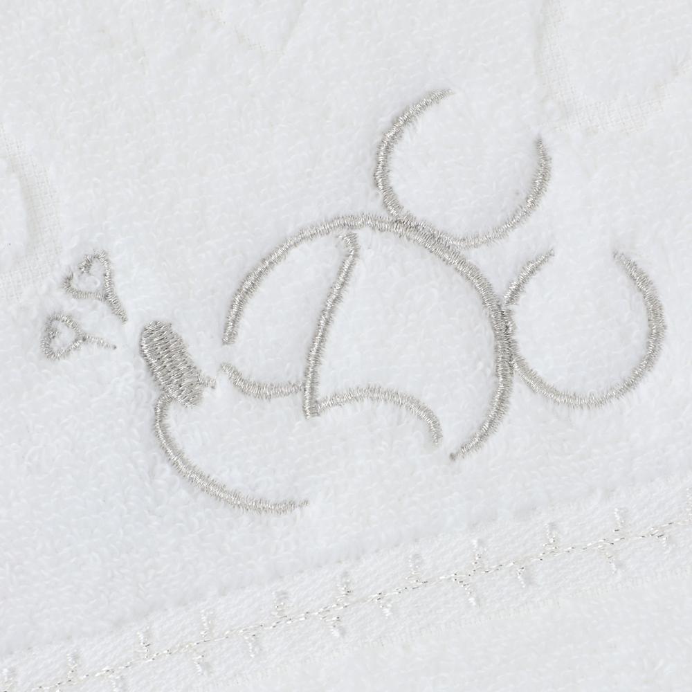 ミッキーマウス バスタオル ホワイト