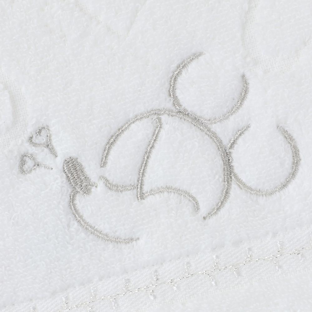 ミッキーマウス フェイスタオル ホワイト