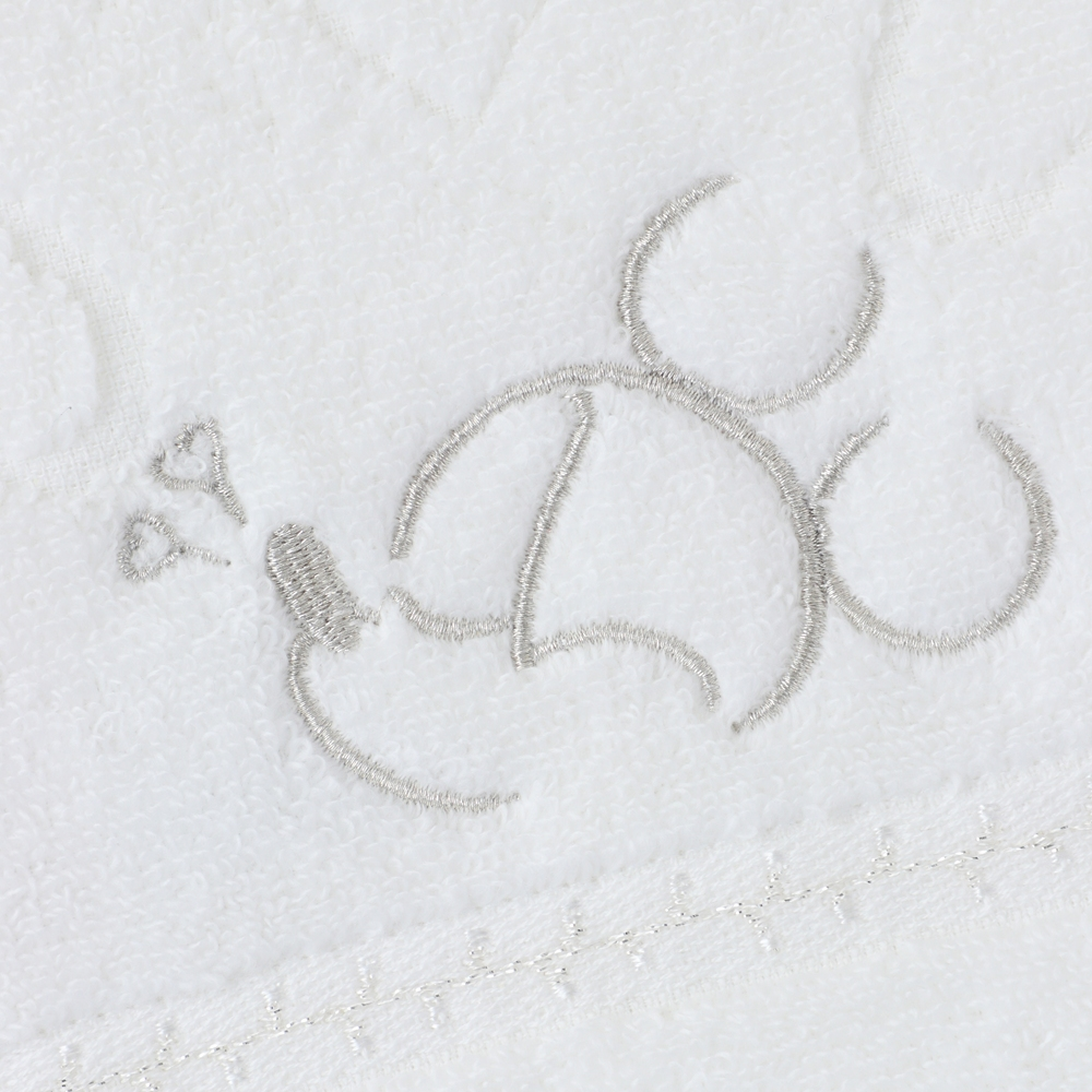 ミッキーマウス タオルハンカチ ホワイト