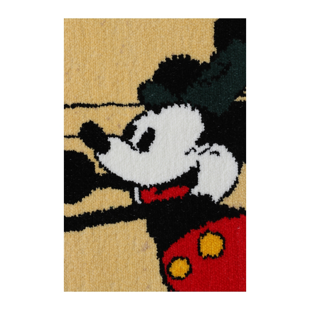 ミッキーマウス シェニール織りバスタオル
