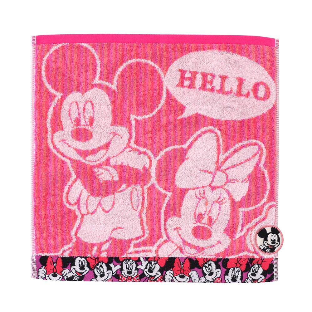 ミッキーマウス&ミニーマウス  ゲストタオル