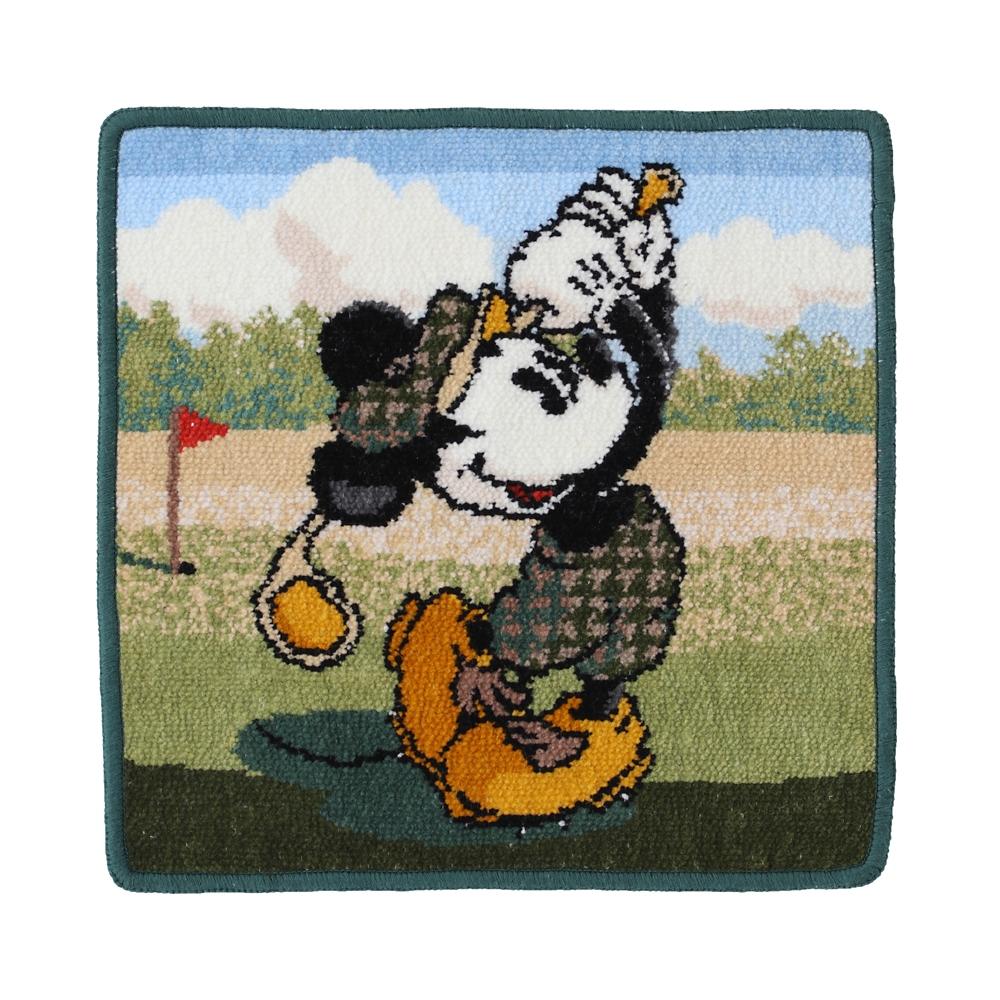 ミッキーマウス シェニール織りハンカチ