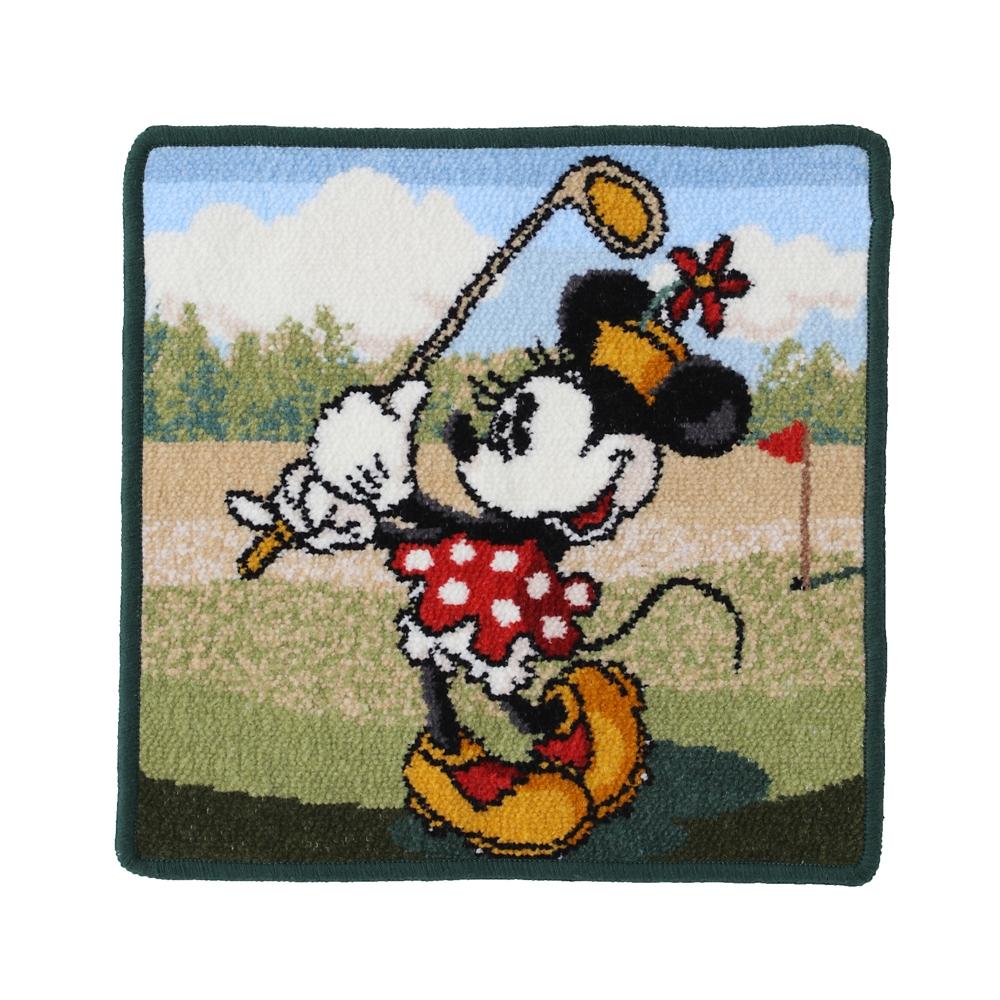 ミニーマウス シェニール織りハンカチ