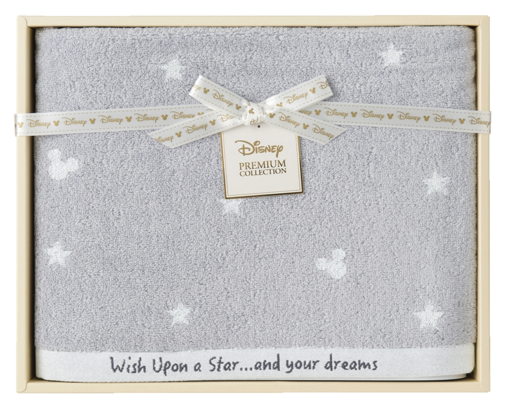ディズニー 星に願いを バスタオル グレー 3137212