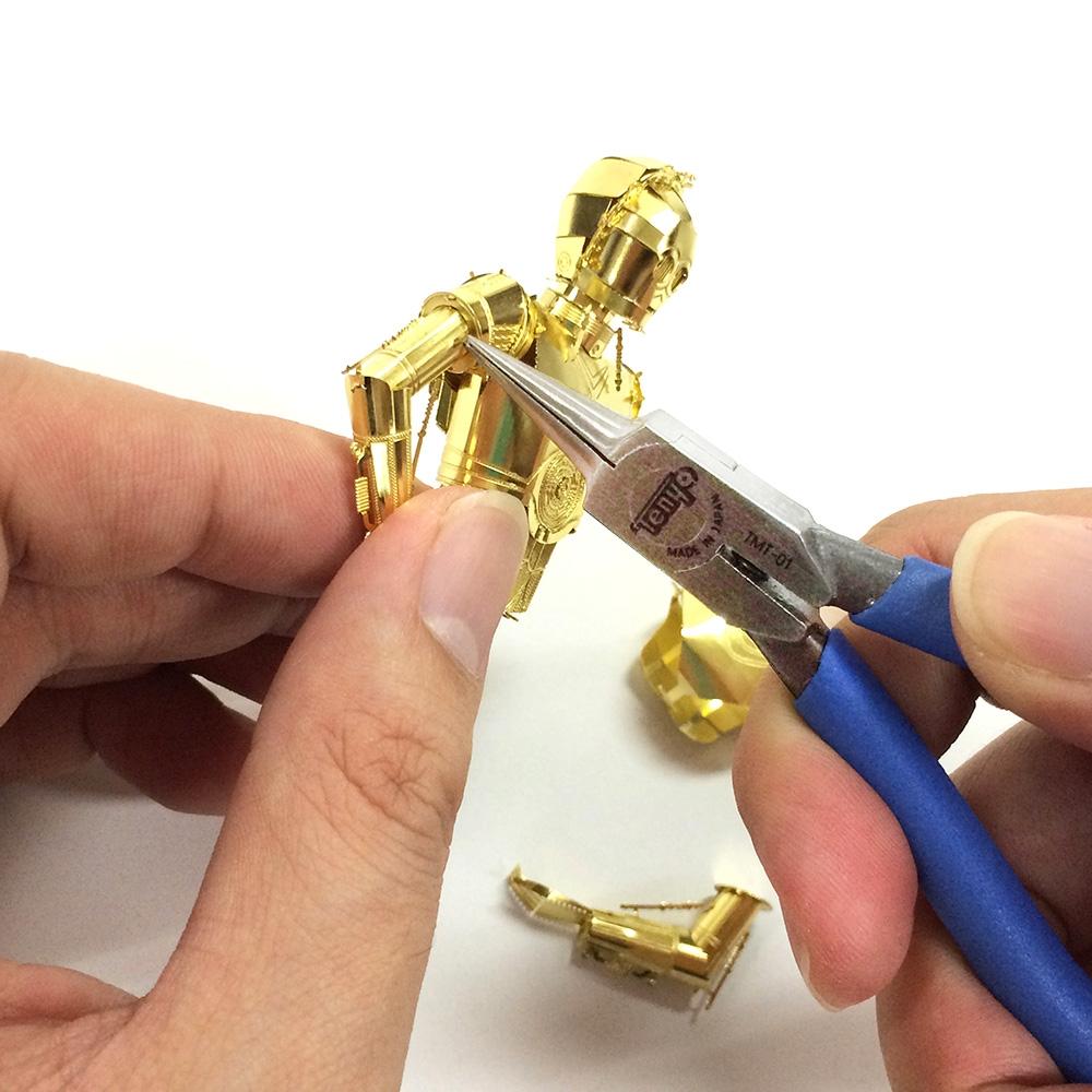 スター・ウォーズ メタリックナノパズル  ゴールド シリーズ「C-3PO」