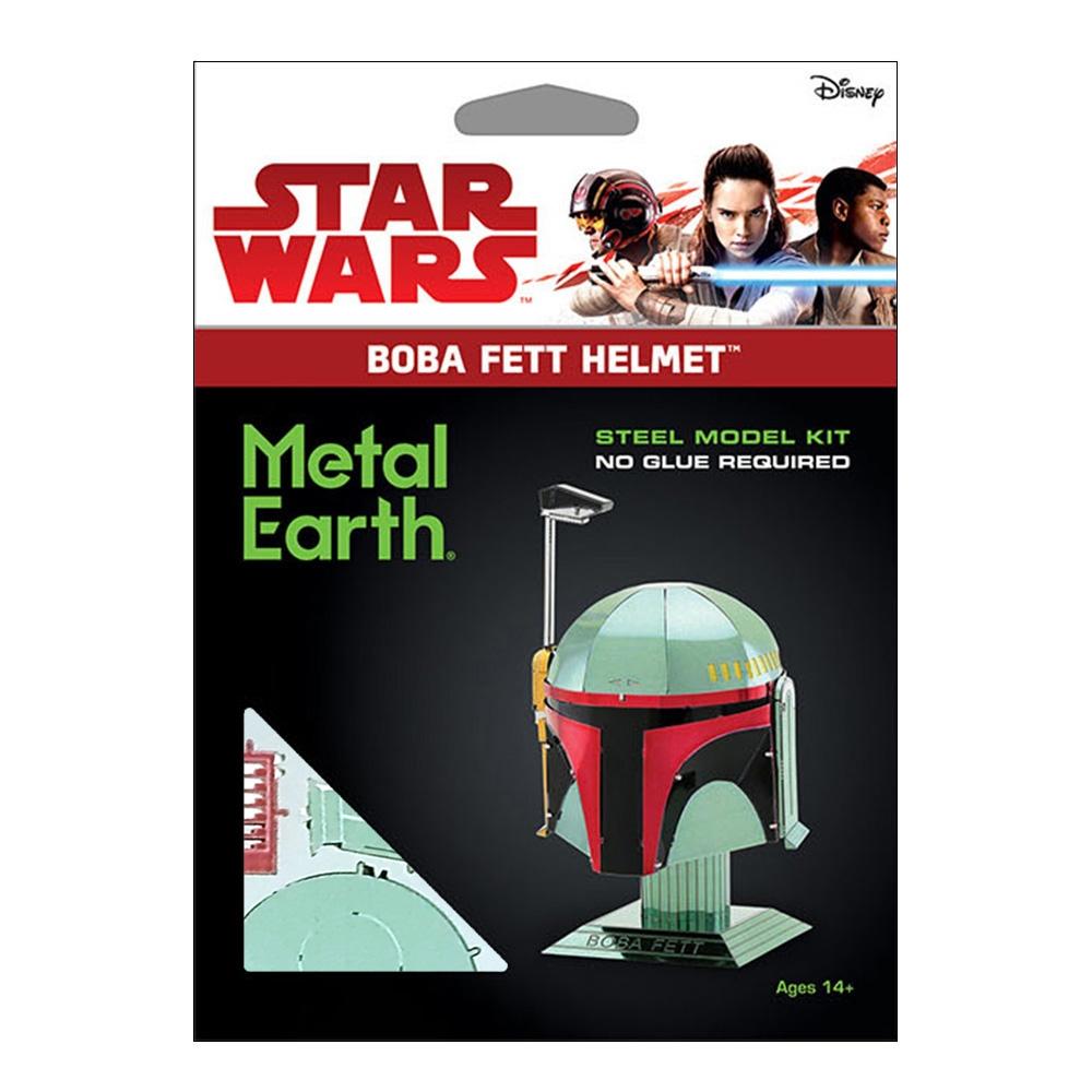 スター・ウォーズ メタリックナノパズル  マルチカラー シリーズ「ボバ・フェット ヘルメット」