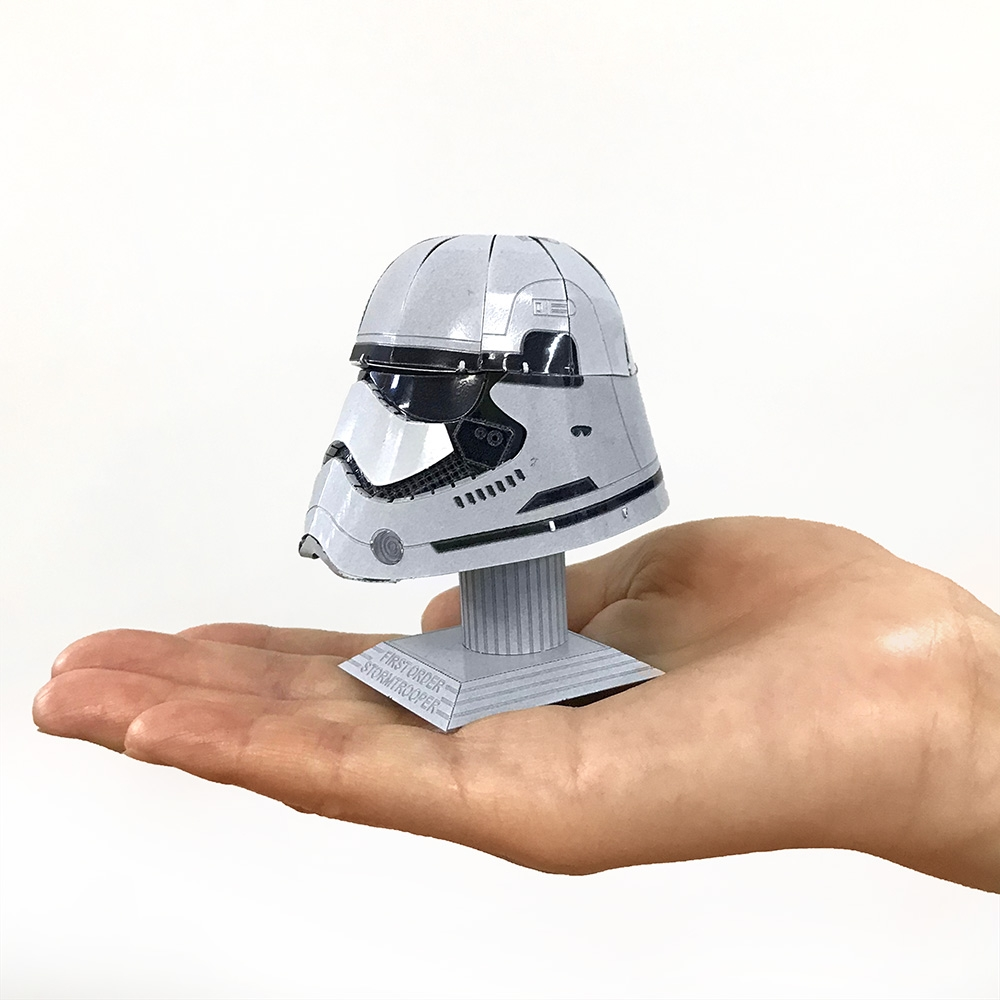 スター・ウォーズ メタリックナノパズル  マルチカラー シリーズ「ストーム・トルーパー ヘルメット」
