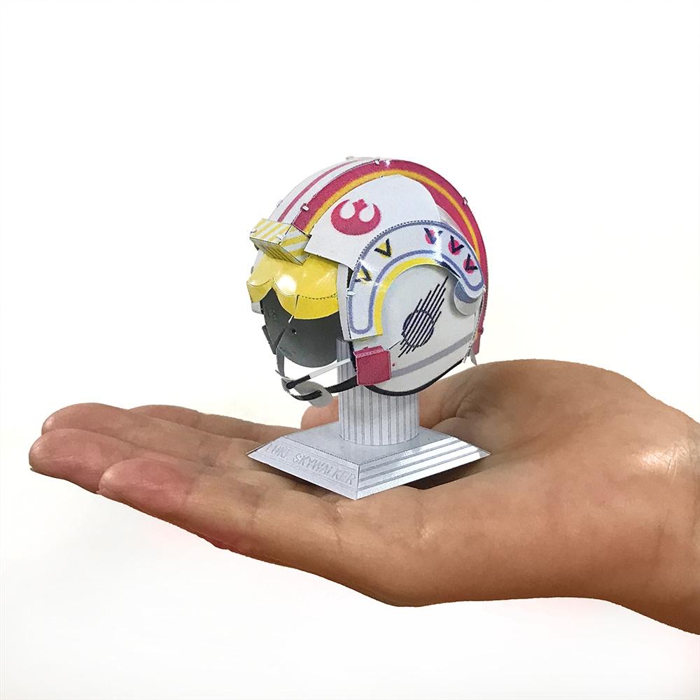 スター・ウォーズ メタリックナノパズル  マルチカラー シリーズ「ルーク・スカイウォーカー ヘルメット」