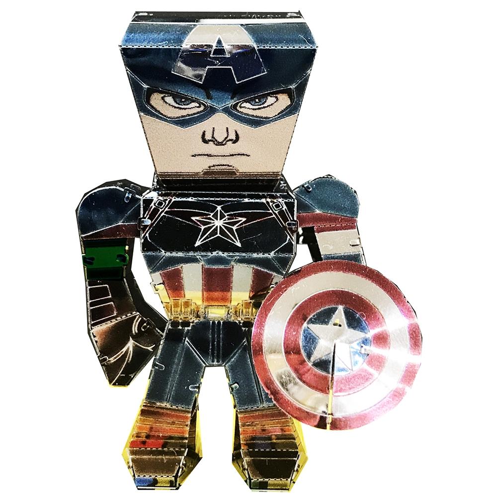 マーベル メタリックナノパズル マルチカラー シリーズ 「キャプテン・アメリカ」