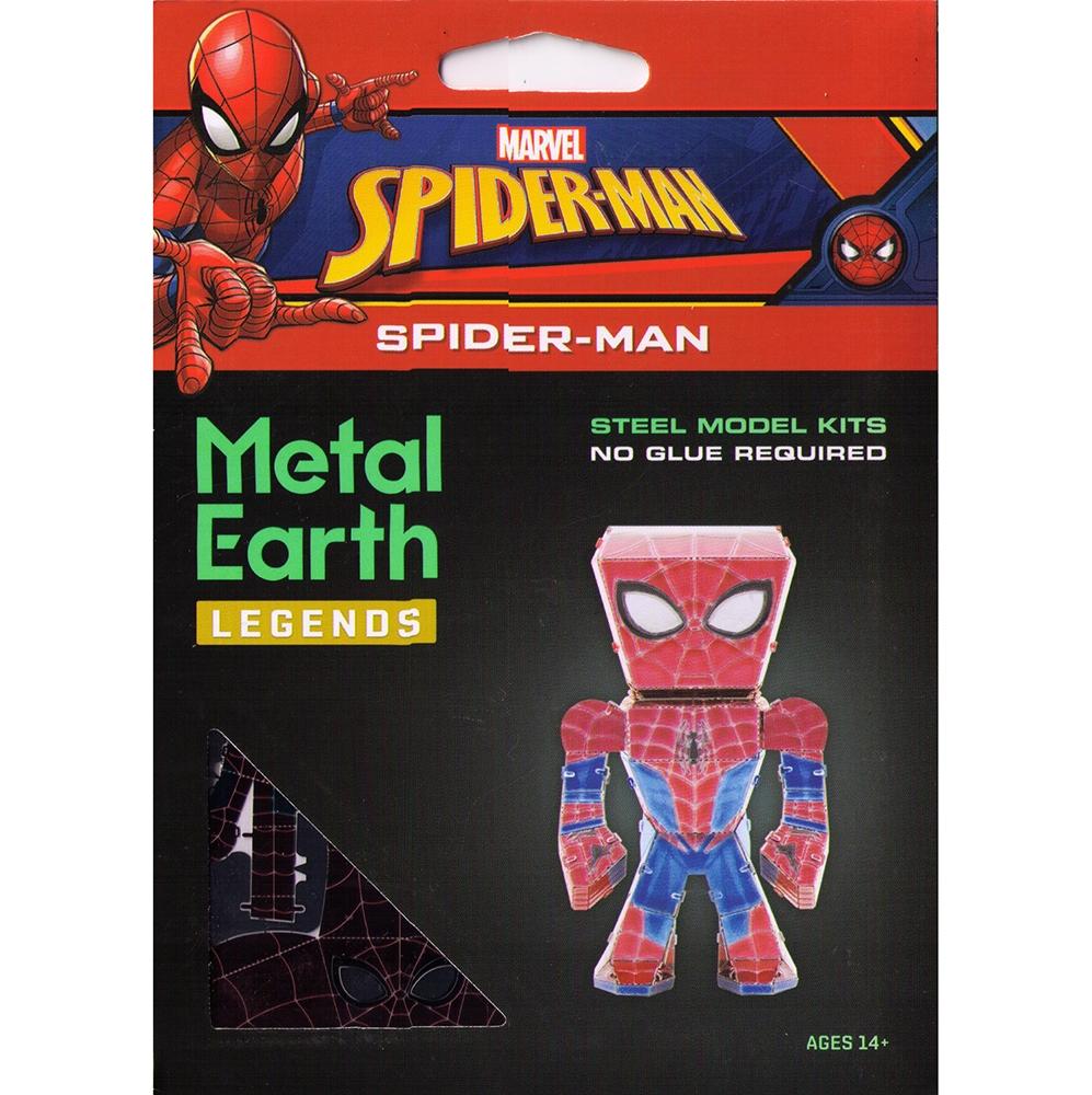 マーベル メタリックナノパズル マルチカラー シリーズ 「スパイダーマン」