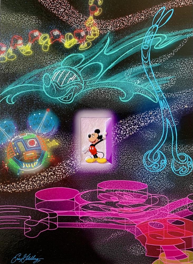 【受注生産】ミッキーマウス展/Future Mickey/インパストファインアート