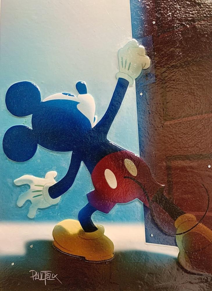【受注生産】ミッキーマウス展/The Promise Ahead/インパストファインアート
