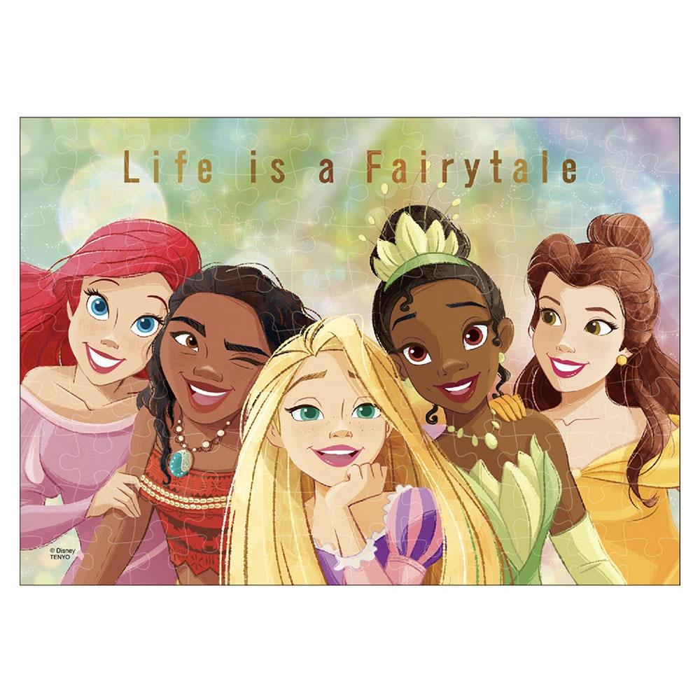 アルティメット・プリンセス・セレブレーション ジグソーパズル ホロクリスタル 108ピース 「Life is a Fairytale」