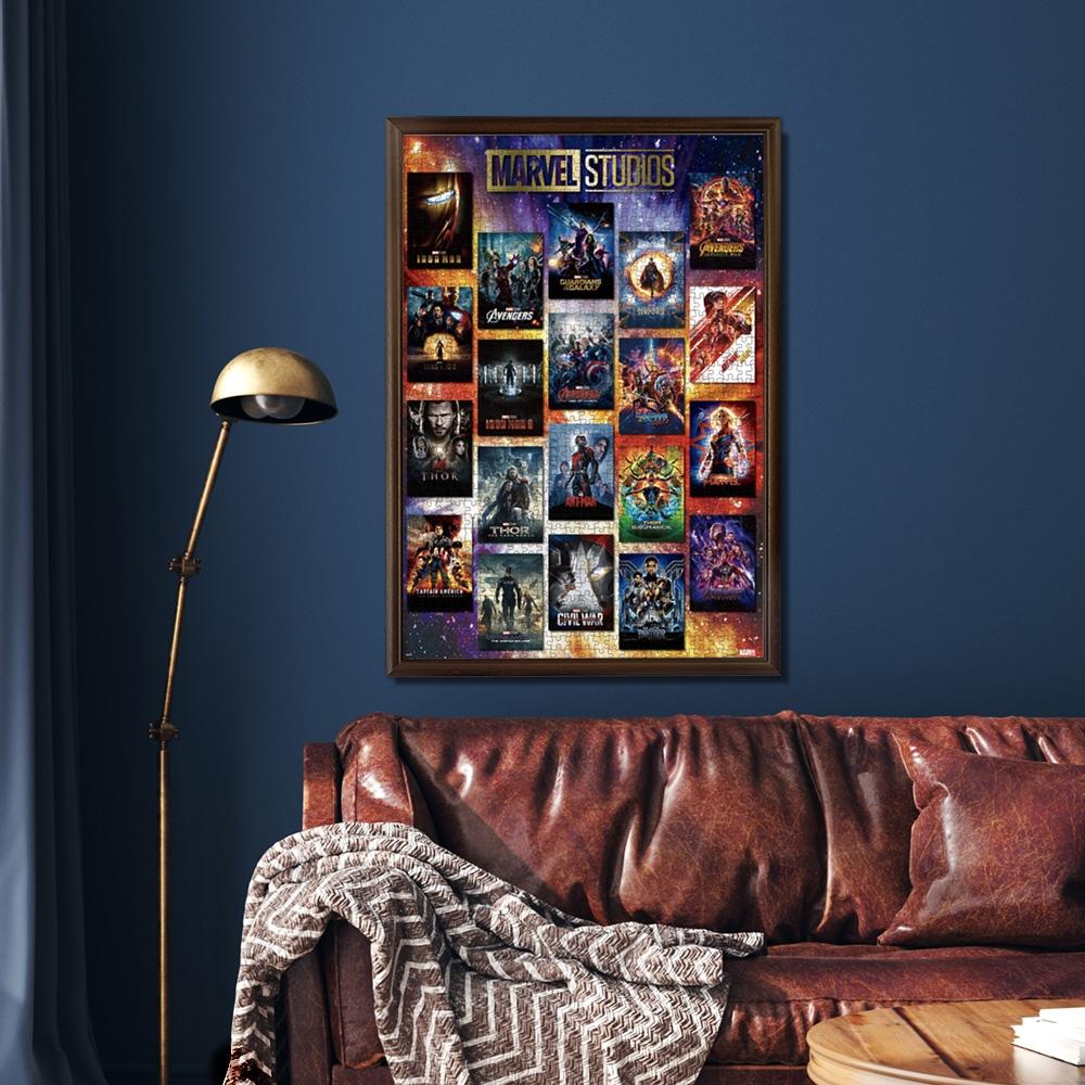 マーベル ジグソーパズル 1000ピース 「 Movie Poster Collection MARVEL STUDIOS」