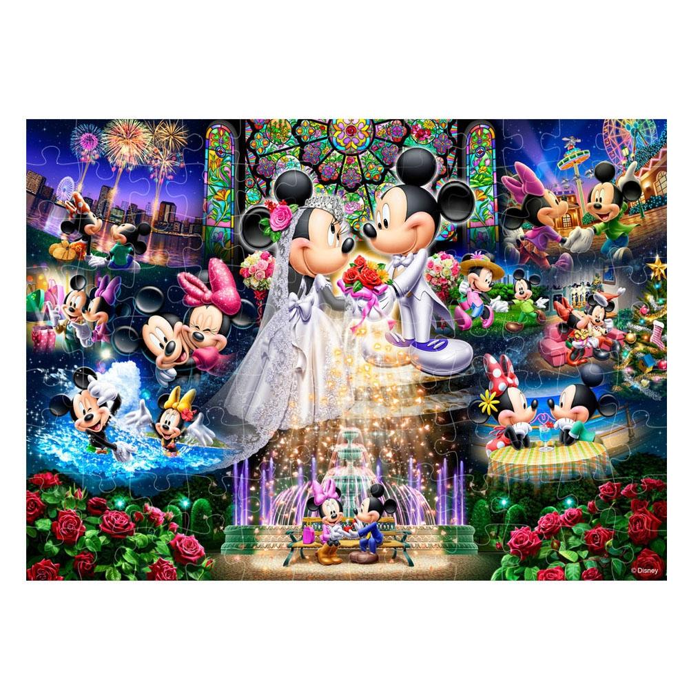 ミッキーマウス  ホロクリスタル ジグソーパズル 108ピース 「永遠の誓い ~ウエディング ドリーム~」