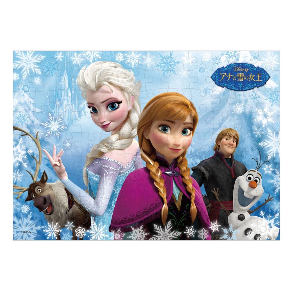 アナと雪の女王 ジグソーパズル 108ピース  「2人のプリンセス(アナと雪の女王)」