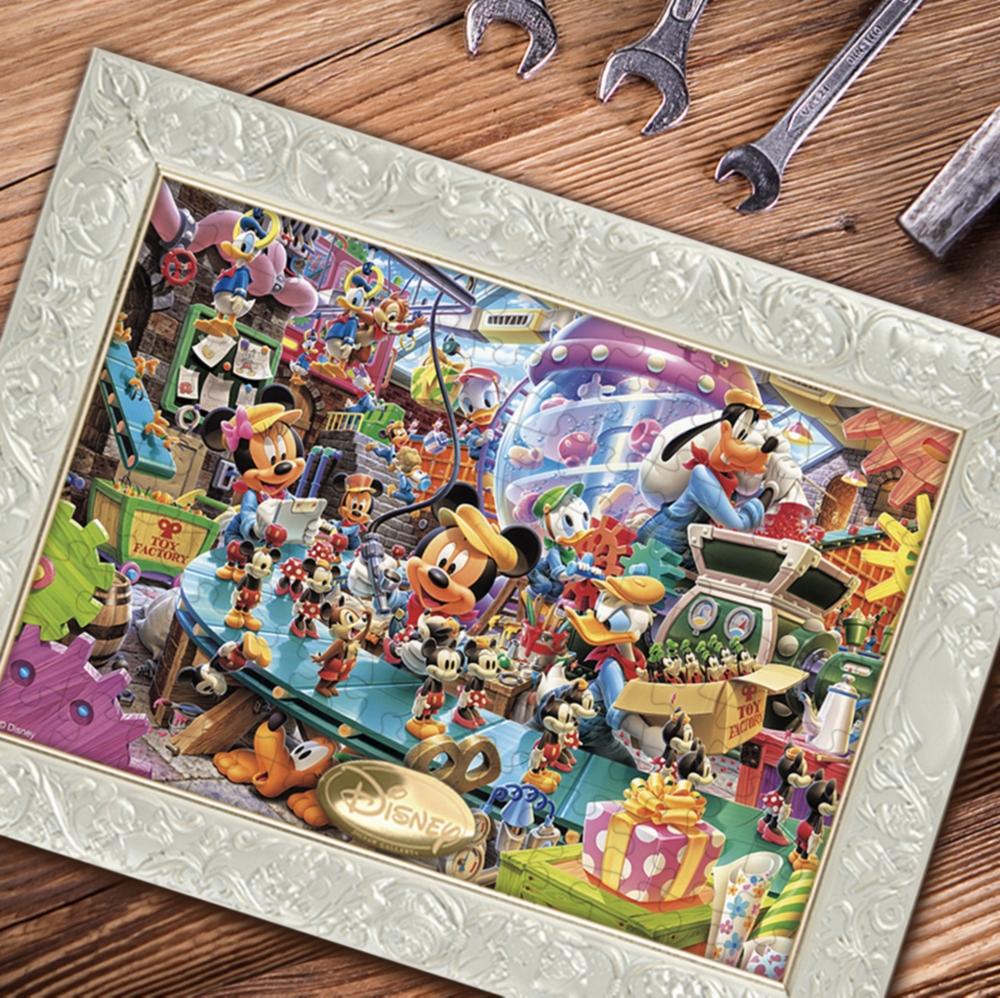ミッキー&フレンズ  ジグソーパズル 108ピース 「ミッキーのトイファクトリー」