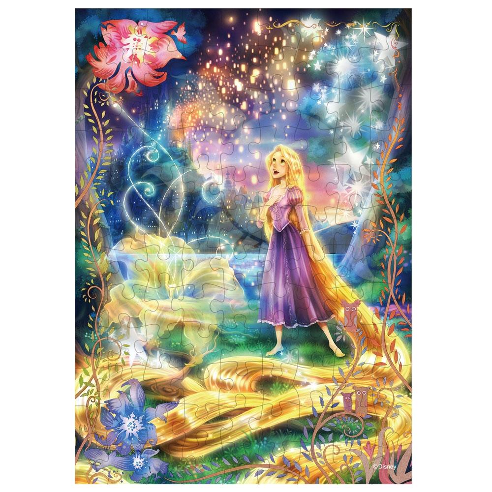 ラプンツェル ジグソーパズル 光る 108ピース 「輝く魔法の髪(ラプンツェル) 」