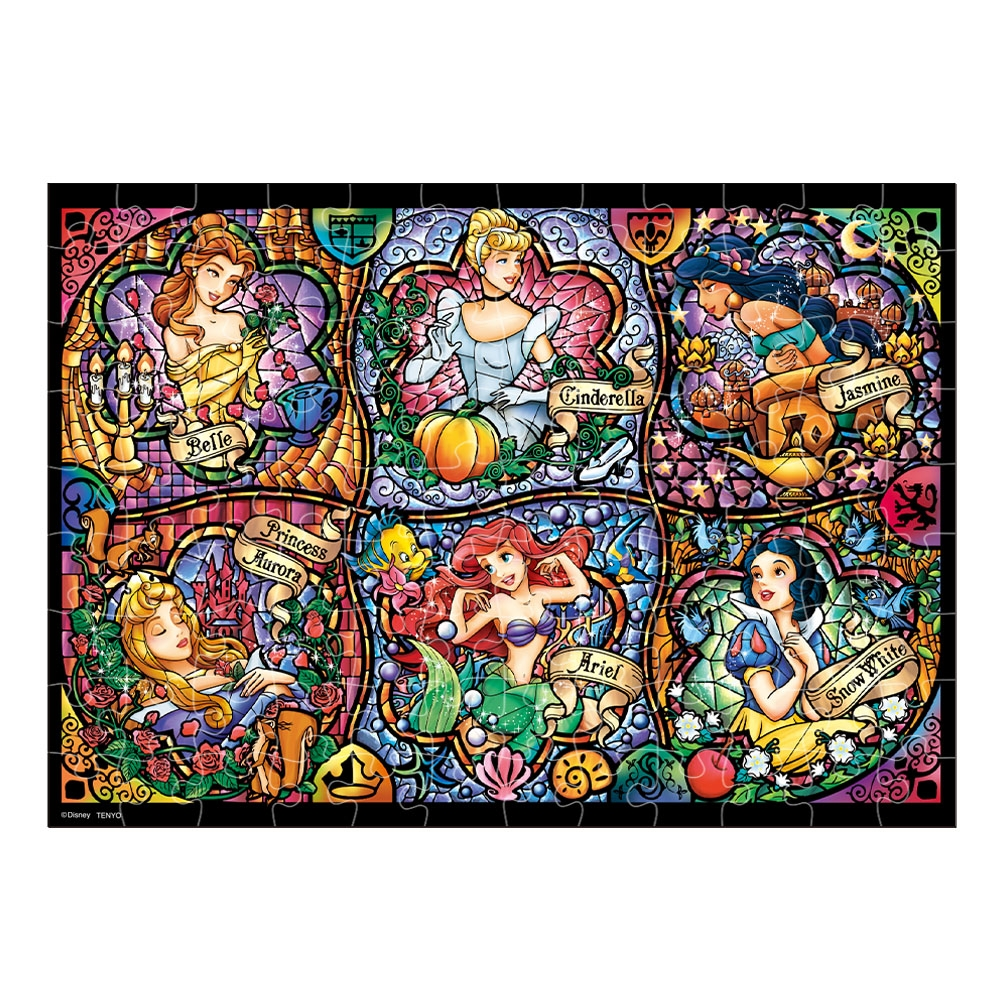ディズニープリンセス ホログラム ペーパー ジグソーパズル 108ピース 「ブリリアント プリンセス」