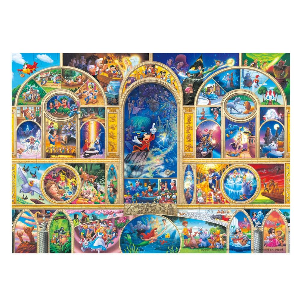 オールキャラクター  ホログラムペーパー ジグソーパズル 108ピース 「ディズニー  オールキャラクター ドリーム」