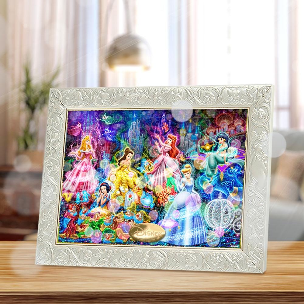 ディズニープリンセス ジグソーパズル ピュアホワイト ぎゅっと266ピース 「ブリリアント ドリーム」