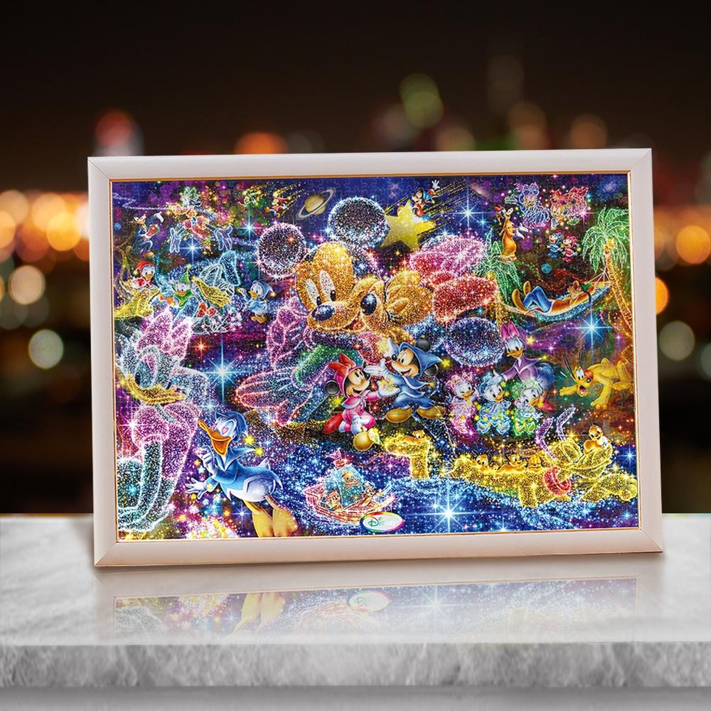 スタンダードキャラクター ジグソーパズル ステンドアート1000ピース「星空に願いを…」