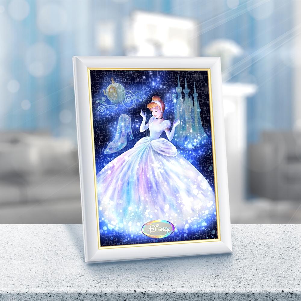 シンデレラ ジグソーパズル ステンドアートぎゅっと266ピース 「トゥインクル シャワー・コレクション・シリーズ」「魔法の光に包まれて(シンデレラ)」