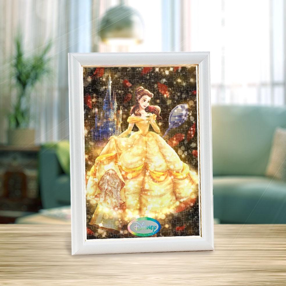 ベル ジグソーパズル ステンドアート ぎゅっと266ピース トゥインクル シャワー コレクション・シリーズ 「 愛が照らす物語(ベル)」