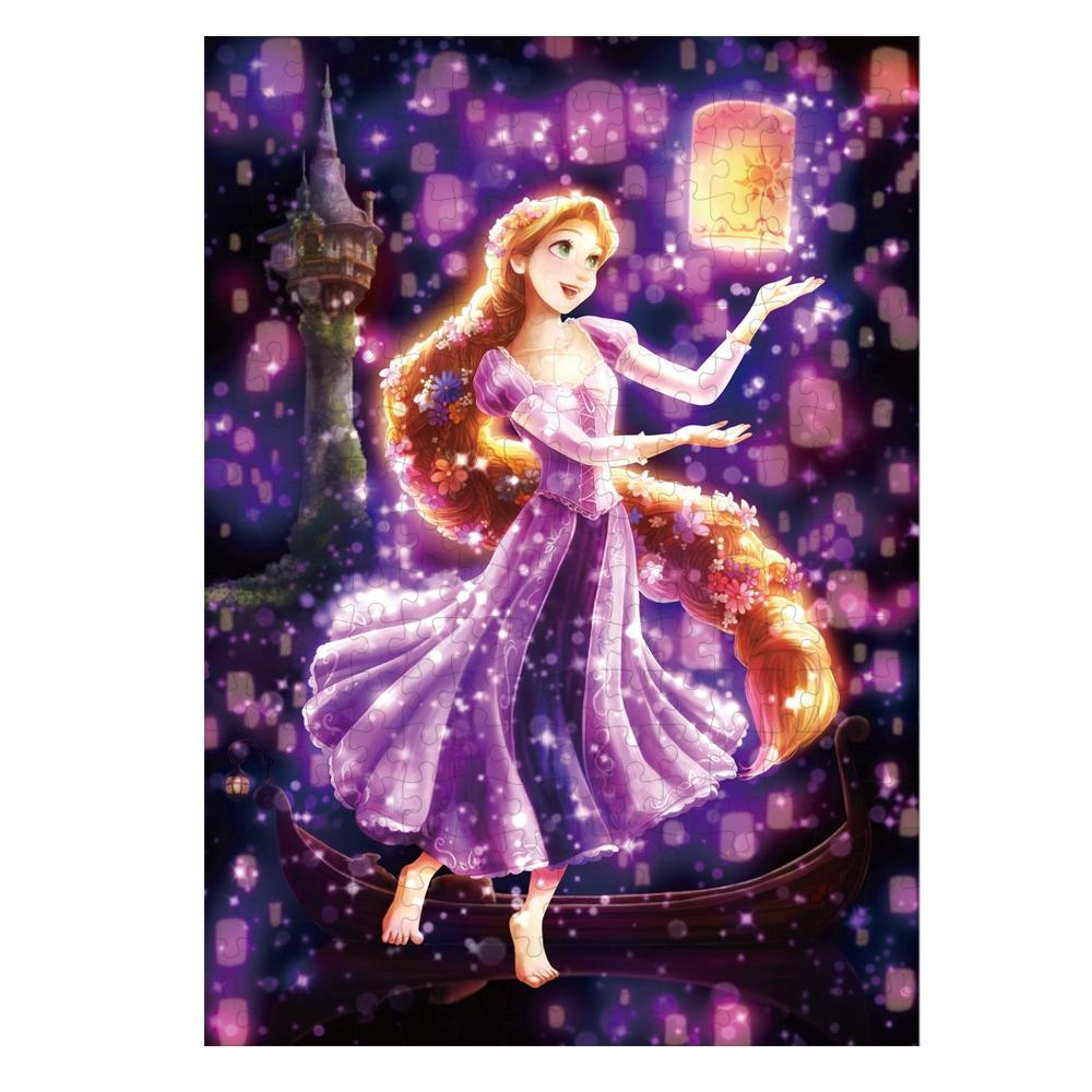 ラプンツェル ジグソーパズル ステンドアートぎゅっと266ピース 「トゥインクル シャワー・コレクション・シリーズ」「夜空に灯る夢(ラプンツェル)」