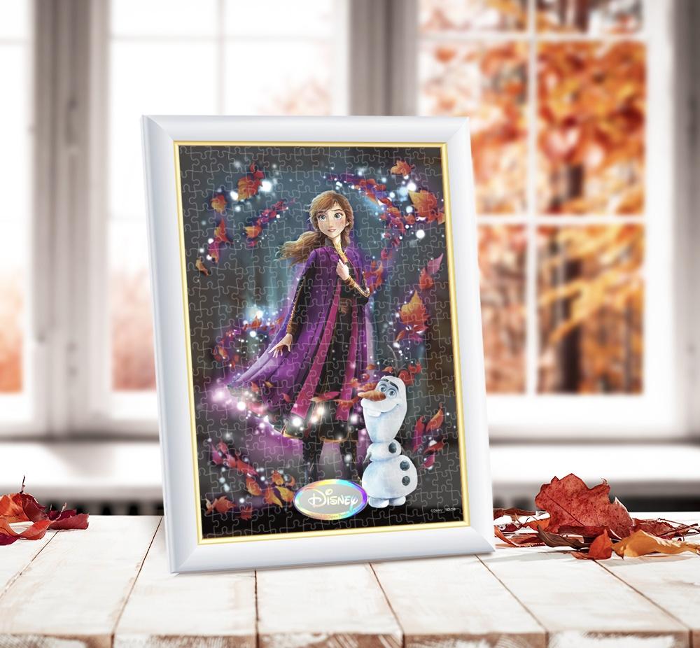 アナ ジグソーパズル ステンドアード ぎゅっと266ピース Twinkle shower Collection 「変わらない心の光(アナ)」