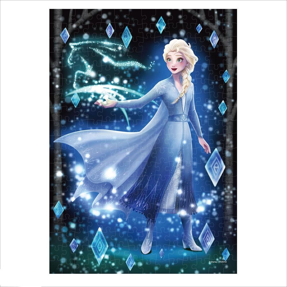 エルサ ジグソーパズル ステンドアード ぎゅっと266ピース Twinkle shower Collection 「きらめく魔法の秘密(エルサ)」