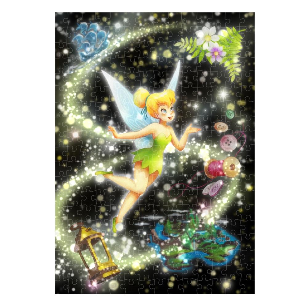 ティンカー・ベル ステンドアート ぎゅっと266ピース ジグソーパズル  トゥインクル・ シャワー・コレクション 「ピクシーダストの輝き(ティンカー・ベル)」