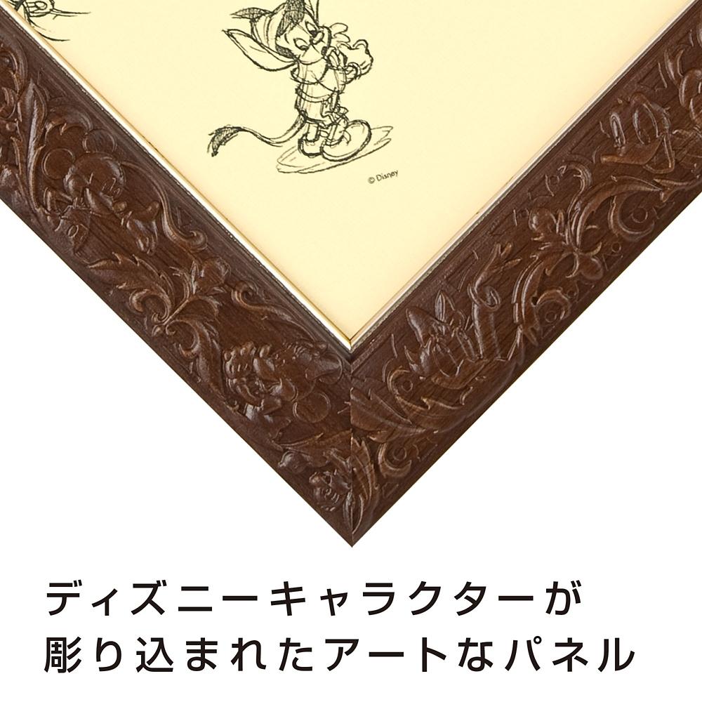 ジグソーパズル用パネル 108ピース用  対応サイズ 18.2×25.7cm アートフィギュアパネル ブラウン