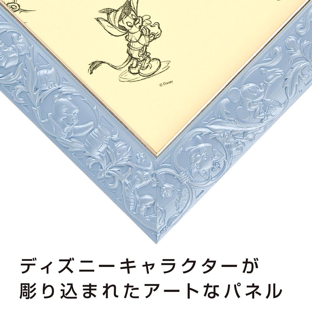 ジグソーパズル用パネル 108ピース用  対応サイズ 18.2×25.7cm アートフィギュアパネル パールブルー