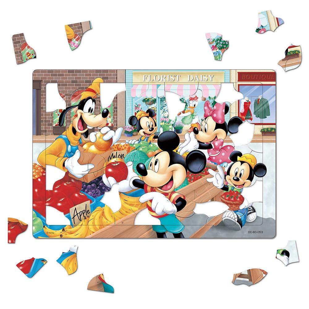 ミッキー&フレンズ チャイルドパズル 80ピース 「くだものやさん」