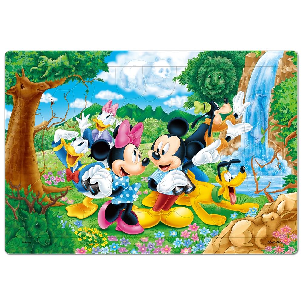 ミッキー&フレンズ かくれんぼチャイルドパズル 40ピース 「みんなでさがそうよ」