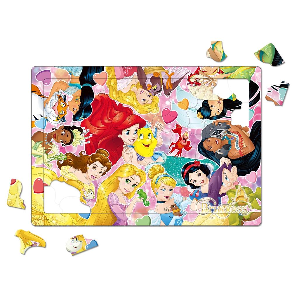 ディズニープリンセス チャイルドパズル 80ピース 「ディズニープリンセスとなかまたち」